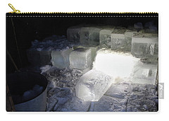 Ice Blocks In House Carry-all Pouch