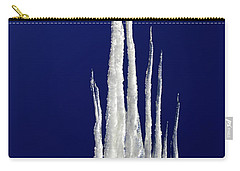 Carry-all Pouch featuring the photograph Ice Castle by Shane Bechler
