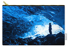 Ice Cave Explorer Carry-all Pouch
