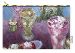 Ice Cream With Dog Carry-all Pouch