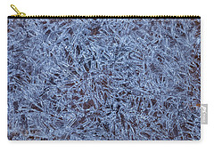 Ice Crystals Carry-all Pouch by Jonathan Nguyen