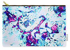 Carry-all Pouch featuring the painting Ice Dance by Anastasiya Malakhova