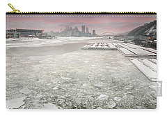 Frozen Allegheny River  Carry-all Pouch