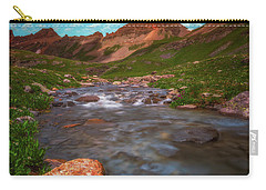 Carry-all Pouch featuring the photograph Ice Lake Nights by Darren White