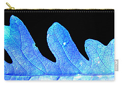Ice Leaf Photograph Carry-all Pouch