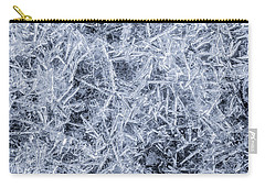 Ice On Minnehaha Creek  Carry-all Pouch by Jim Hughes