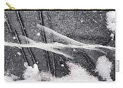 Ice Patterns Vii Carry-all Pouch