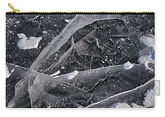 Ice Patterns Xv Carry-all Pouch