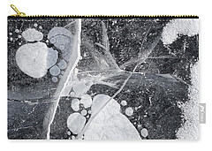 Ice Patterns Xviii Carry-all Pouch