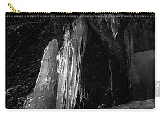 Icicle Of The Forest Carry-all Pouch by Tatsuya Atarashi