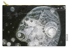 Ice Portrait - Lake Wingra - Madison - Wisconsin Carry-all Pouch