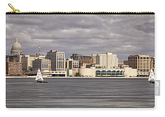 Ice Sailing - Lake Monona - Madison - Wisconsin Carry-all Pouch