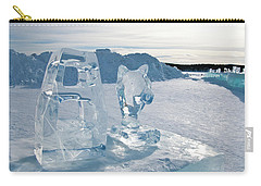 Ice Sculpture Carry-all Pouch by Tamara Sushko