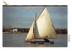 Ice Yachting Carry-all Pouch