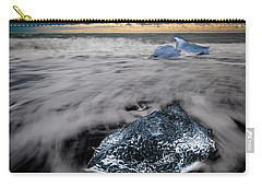 Carry-all Pouch featuring the photograph Iceberg Remnant by Rikk Flohr