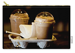 Iced Caramel Coffee Carry-all Pouch