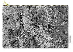 Carry-all Pouch featuring the photograph Iced Cottonwoods by Colleen Coccia