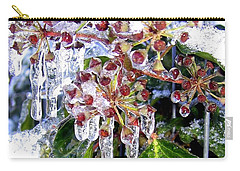 Iced Ivy Carry-all Pouch