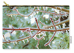 Iced Maple Branches Carry-all Pouch