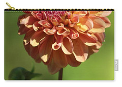 Iced Tea Dahlia In Marzipan And Milano Tones Carry-all Pouch