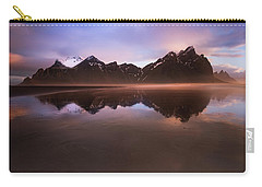 Iceland Sunset Reflections Carry-all Pouch