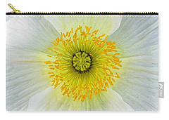Iceland White Poppy Carry-all Pouch