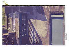 Carry-all Pouch featuring the photograph Icelandic Cafe by Edward Fielding