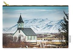 Icelandic Church, Thingvellir Carry-all Pouch