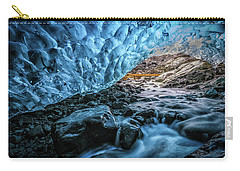 Icelandic Ice Cave Carry-all Pouch
