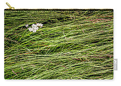 Carry-all Pouch featuring the photograph Icelandic Summer Flowers by KG Thienemann
