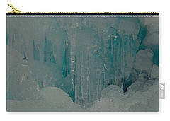 Icicle Blue Beauty Carry-all Pouch