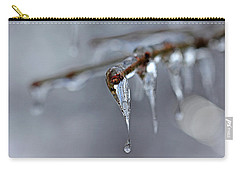 Icicle Teardrop Carry-all Pouch