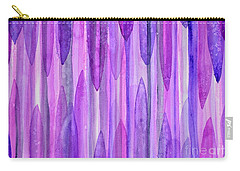 Icicles Carry-all Pouch by Holly York
