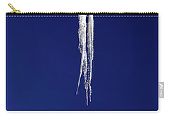 Carry-all Pouch featuring the photograph Icicles by Shane Bechler