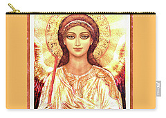 Icon Angel In A White Halo Carry-all Pouch