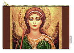 Icon Angel In Green Carry-all Pouch