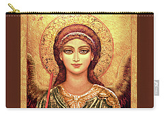 Icon Archangel In Gold Carry-all Pouch