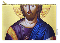 Icon Of Christ In Jericho Carry-all Pouch