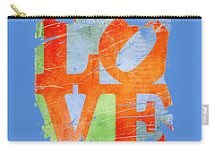 Iconic Love - Grunge Carry-all Pouch