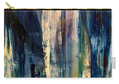 Icy Cavern Abstract Carry-all Pouch