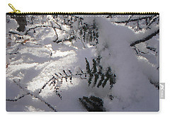 Icy Fern Carry-all Pouch