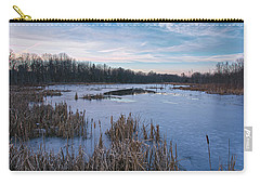 Icy Glazed Wetlands Carry-all Pouch