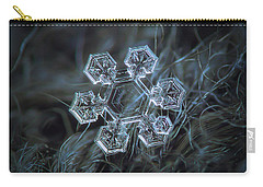Carry-all Pouch featuring the photograph Icy Jewel by Alexey Kljatov
