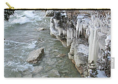Icy Shores Carry-all Pouch by Greta Larson Photography