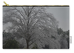 Icy Tree Carry-all Pouch