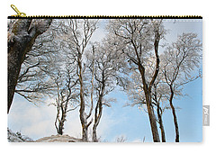 Icy Trees Carry-all Pouch