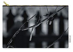 Icy Twig Carry-all Pouch by Karen Slagle