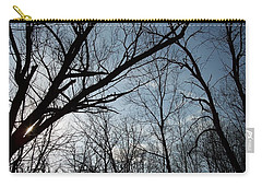Icy Winter Sky Carry-all Pouch