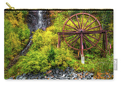 Idaho Springs Water Wheel Carry-all Pouch