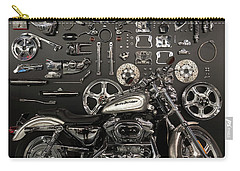If Bling Is Your Thing Carry-all Pouch by Randy Scherkenbach